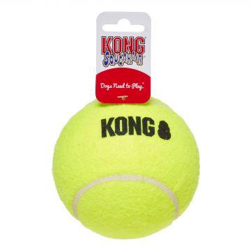 KONG Leke SqueakAir Ball Gul XL 10cm