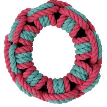 Dogman Leke Tau-ring Rosa M 16cm
