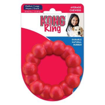 KONG Leke Ring Classic Rød M/L 11cm