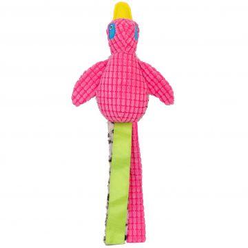 Dogman Leksak Quack Rosa L 55cm
