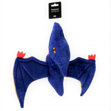 Dogman Leke Pterodactyl Blå M 32cm