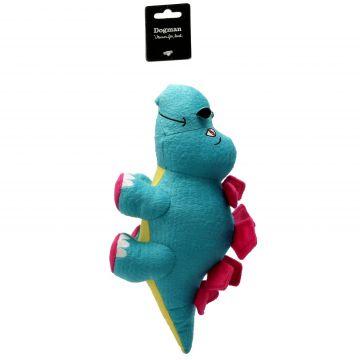 Dogman Leksak Stegosaurus Blå M 30cm