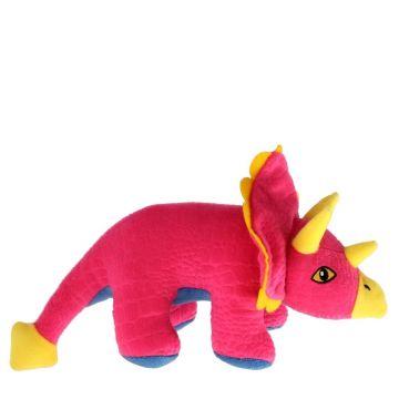 Dogman Leksak Triceratops Rosa M 27,5cm