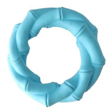 Dogman Leksak Twist Ring Turkos M 14,5cm
