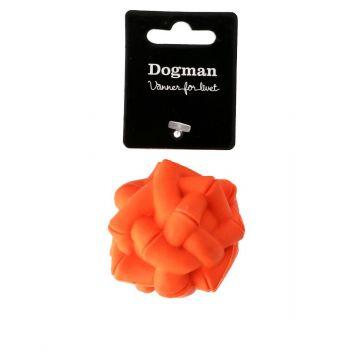 Dogman Leksak Boll Orange M 6,5cm