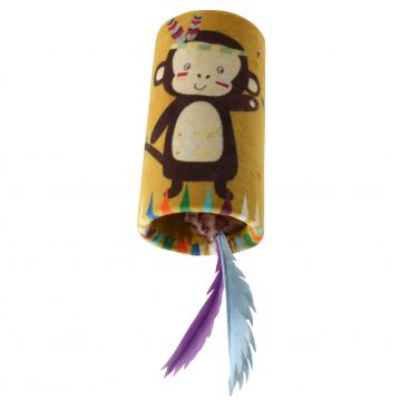 GiGwi Leke MelodyChaser Monkey Gul 24cm