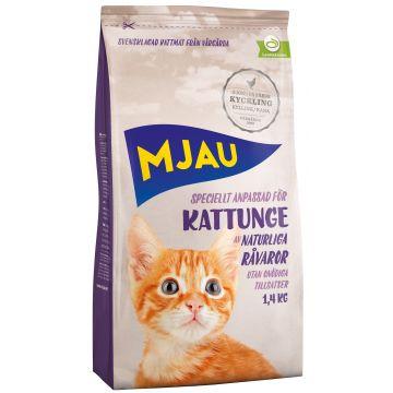 Mjau Tørrfòr Kattunge 1,4kg