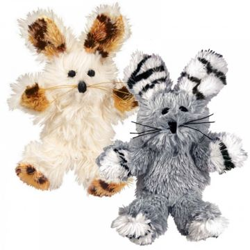 KONG Leke Softies Fuzzy Bunny Mix 18cm