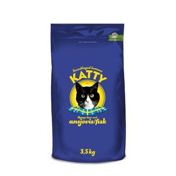 Katty Nyttiga bitar m ansjovis fisk 3,5kg