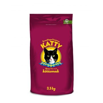 Katty Nyttiga bitar med köttsmak 3,5kg