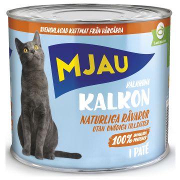 Mjau Paté med kalkun 635g