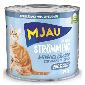 Mjau Paté med strömming 635g