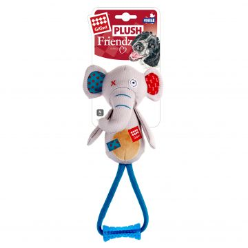 GiGwi Leksak PlushFriendz Elephant Grå M 33cm