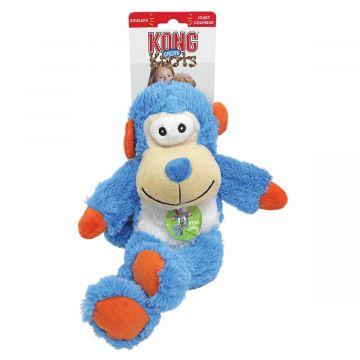KONG Leksak Knots Monkey Blå S/M 23cm