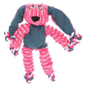 KONG Leksak Knots Bunny Rosa S/M 23cm