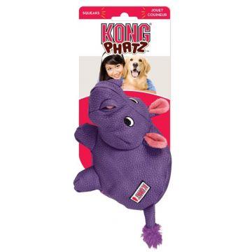 KONG Leksak Phatz Hippo Lila M 22cm
