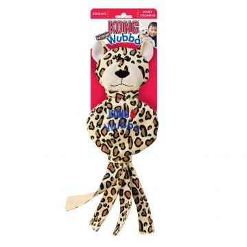 KONG Leke Wubba NoStuff Cheetah Beige L 40cm