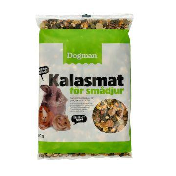 Dogman Kalasmat för smådjur 600g