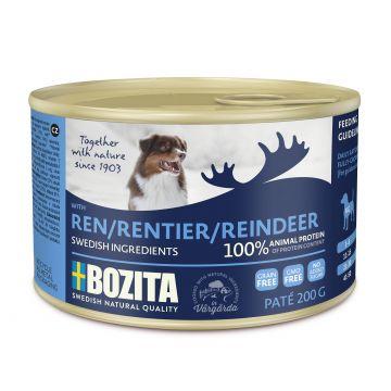 Bozita Paté med reinsdyr 200g