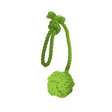 Dogman Leke Tauball med håndtak Grønn M 35cm