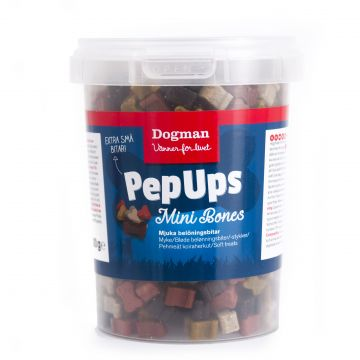 Dogman PepUps Mini Bones 300g