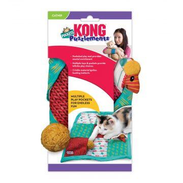 KONG Aktiviseringsleke Puzz Pockets Flerfärgad 40cm