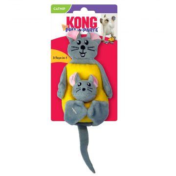KONG Leke Pull-A-Partz Cheezy Flerfärgad 23cm