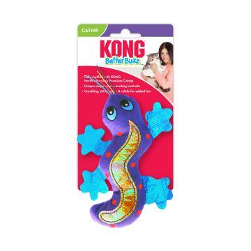 KONG Leke Better Buzz Gecko Flerfärgad 14cm