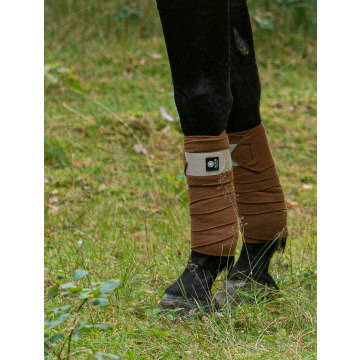 Jacson Fleece bandasje Brun 3m