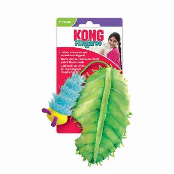 KONG Leke Flingaroo CATerpillar Flerfärgad 8x25,5x3cm