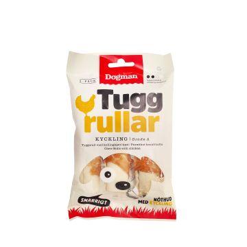 Dogman Tuggrullar med kyckling 3p Vit S 10cm