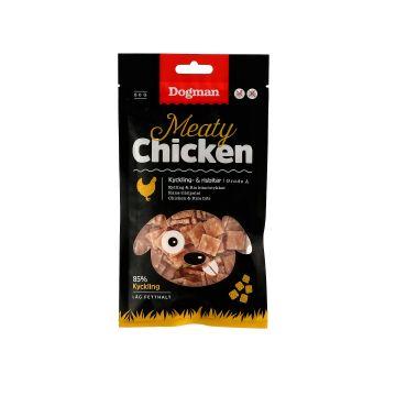 Dogman Kyckling och risbitar 80g