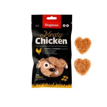 Dogman Kyckling och rishjärtan 80g