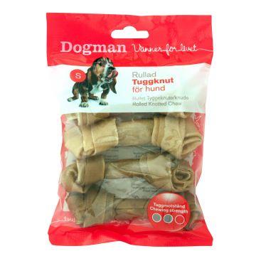 Dogman Tyggeknute 4p Brun S 11cm