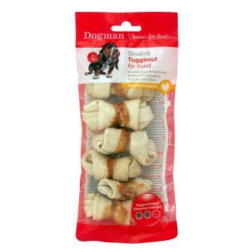 Dogman Tuggknutar med kyckling 6p Vit S 6cm