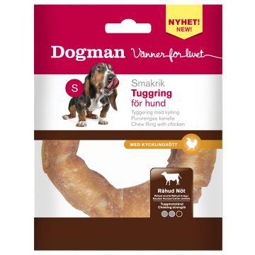 Dogman Tuggring med kyckling Vit S 7,5cm