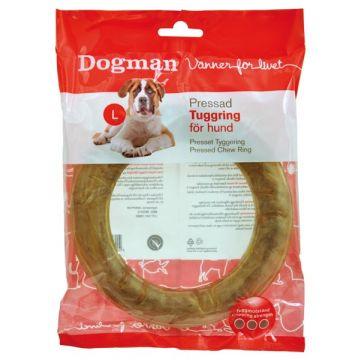 Dogman Tyggering Brun L 15cm