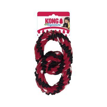 KONG Leksak Signature Ring Tug Flerfärgad 23cm