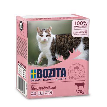 Bozita Bitar i sås med nötkött 370g