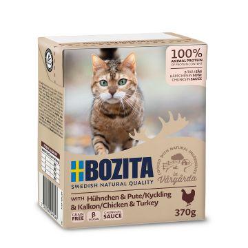Bozita Bitar i sås med kycklingkalkon 370g
