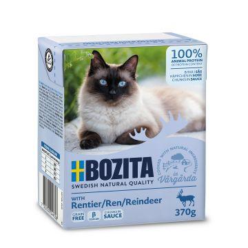 Bozita Bitar i sås med ren 370g