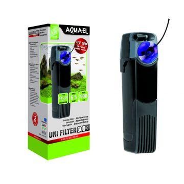 Aquael UNI filter UV500 Svart 5W 500l/h