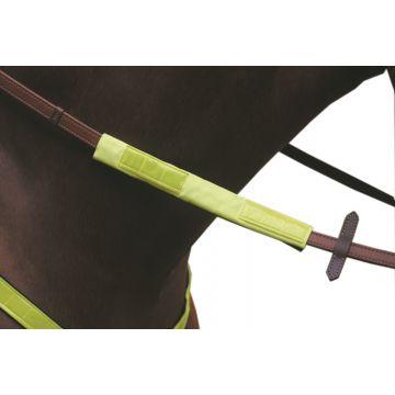 Jacson Tøyle og pannebånd Reflex Neon Gul 25cm