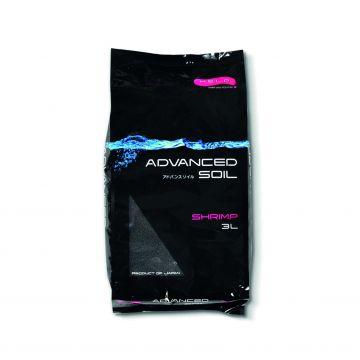 Aquael Advanced Soil Shrimp Svart 3L