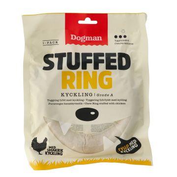 Dogman Chicken stuffed ring Vit L 15cm