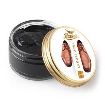 Rapide Shoe cream black Svart 50ml