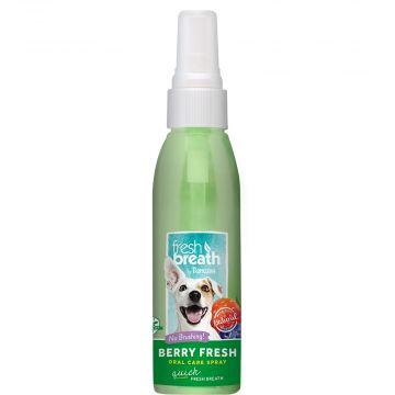 Tropiclean OralCare spray berry fresh 118ml