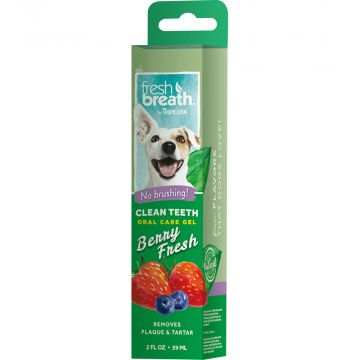 Tropiclean OralCare gel berry fresh 59ml