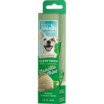 Tropiclean OralCare gel vanilla mint 59ml