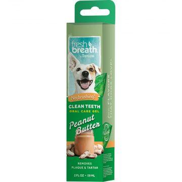 Tropiclean OralCare gel peanut butter 59ml